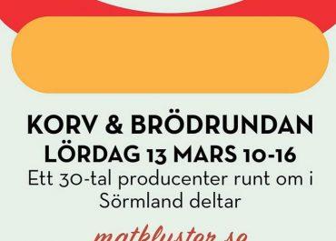 Korv & Brödrundan – lördagen 13 mars